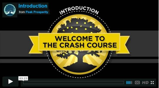 Introduction to The Crash Course