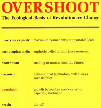 Overshoot by William R Catton