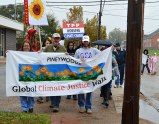 Climate Justice Walkers step off!