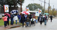 Climate Walkers Resilient against the Rain!